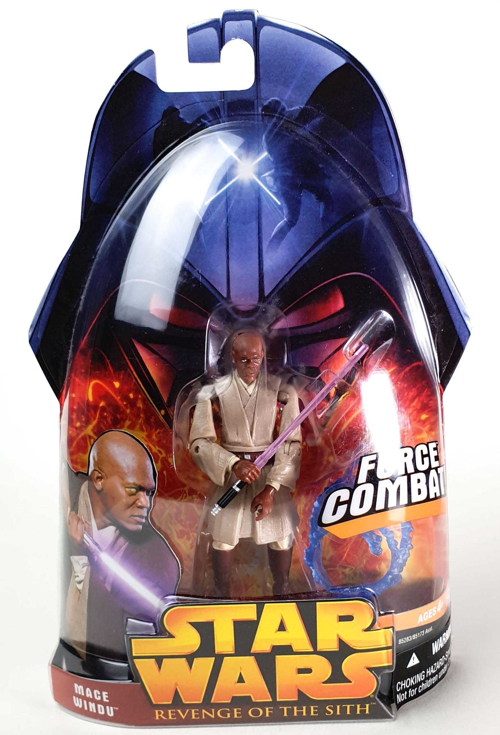 Mace Windu Star Wars Episode Iii Revenge Of The Sith Toy Line Hasbro 2005 Toy Nerds
